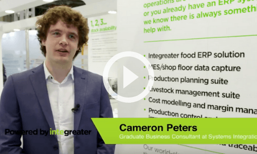 Hear from our graduate Cameron about why he is excited to be a part of the food industry