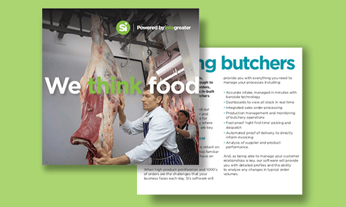Catering butchers - brochure