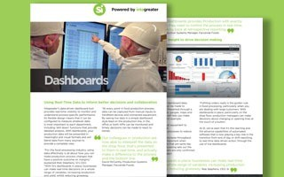 Real time data dashboards - datasheet